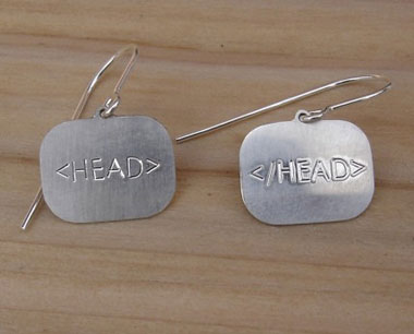 HTML Earrings